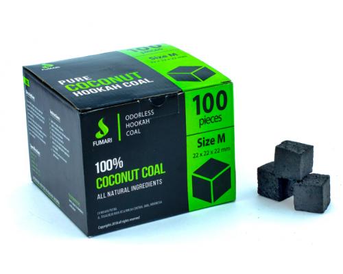 Fumari уголь (22x22x22 мм.) 100 шт.
