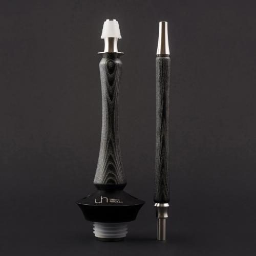 Union Hookah Sleek Standart (черный с серебром)