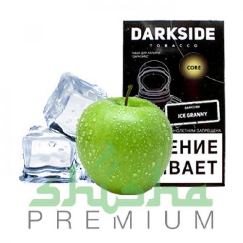 Табак для кальяна Dark Side Ice Granny (кремовое зеленое яблоко со льдом) 100 г