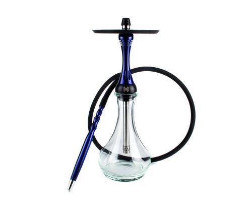 Кальян Alpha Hookah Model X Dark Blue (Альфа Хука Модель Х Темно-синий)