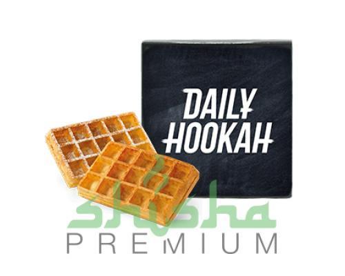 Табак для кальяна DAILY HOOKAH (Дэйли Хука) Бельгийские вафли 60г