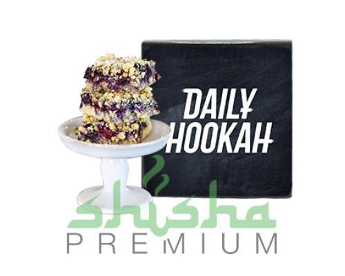Табак для кальяна DAILY HOOKAH (Дэйли Хука) Черничный крамбл 60г