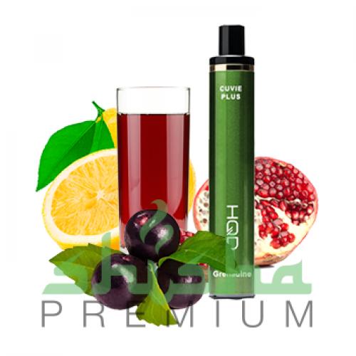 HDQ Cuvie Plus - Гранатовый сок, смородина, лимон 2%