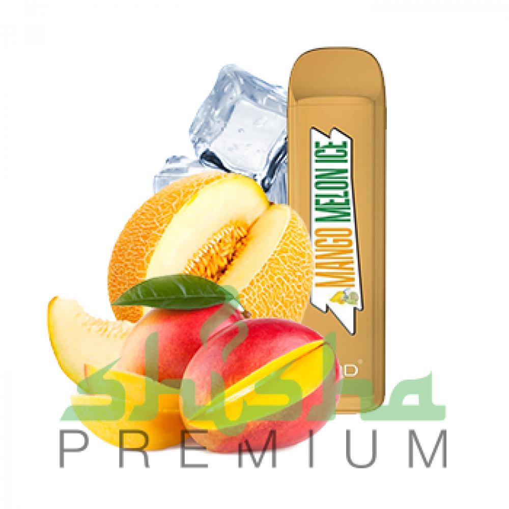 HQD MEGA - Mango, melon, ice (Манго, дыня, лед) 2%