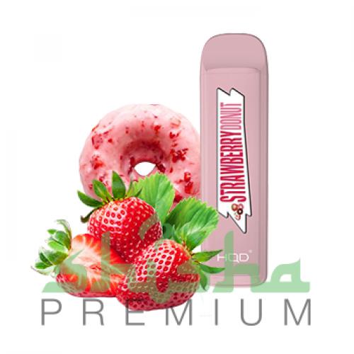 HQD MEGA - Strawberry donut (Клубничный пончик) 2%