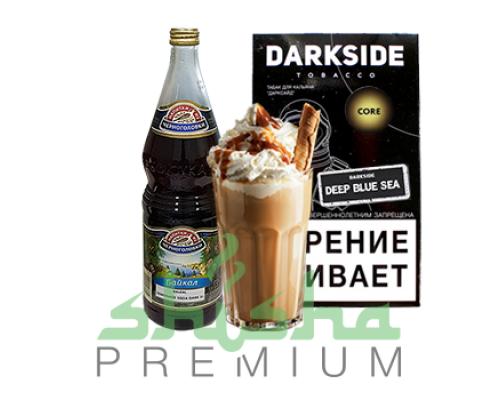 Табак Darkside Deep Blue Sea Medium / Core (Дарксайд Байкал Медиум / Кор, напиток Байкал, кокосовый десерт) 100г