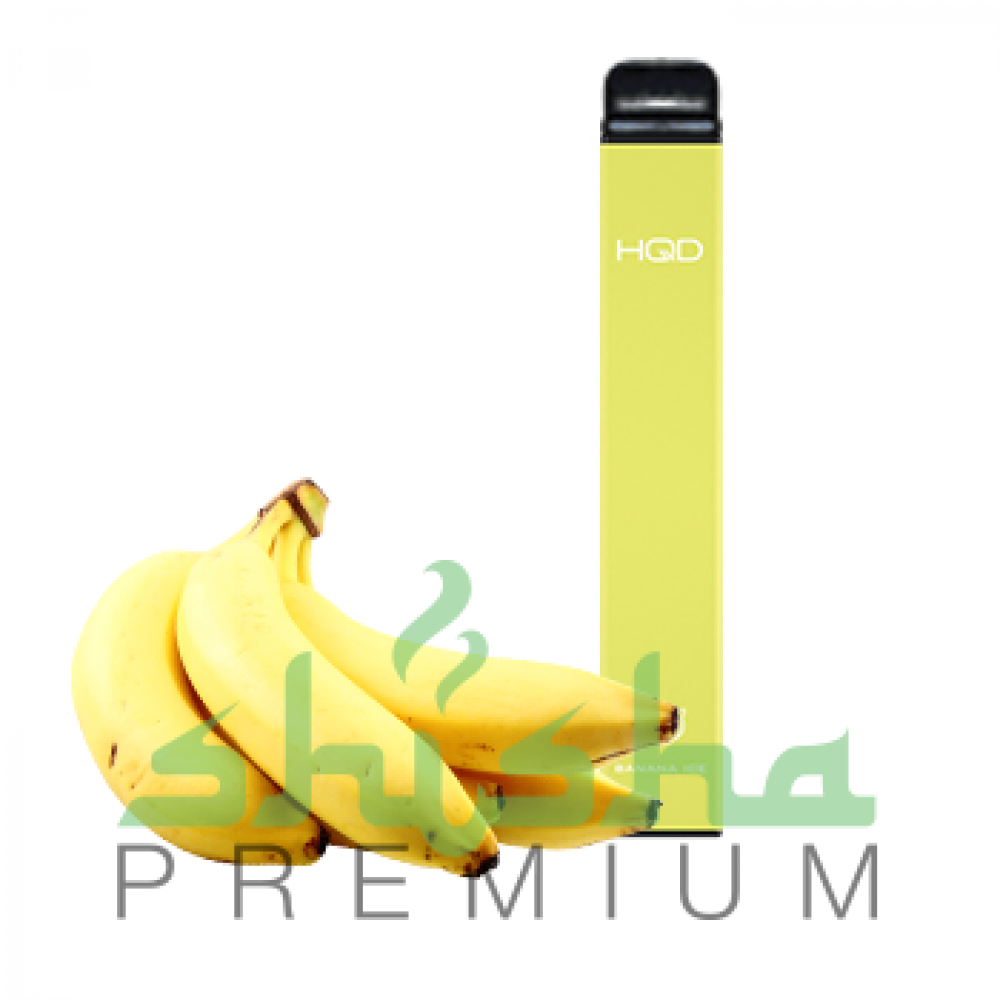 HQD Ultra - Banana Ice (Банан) 5%