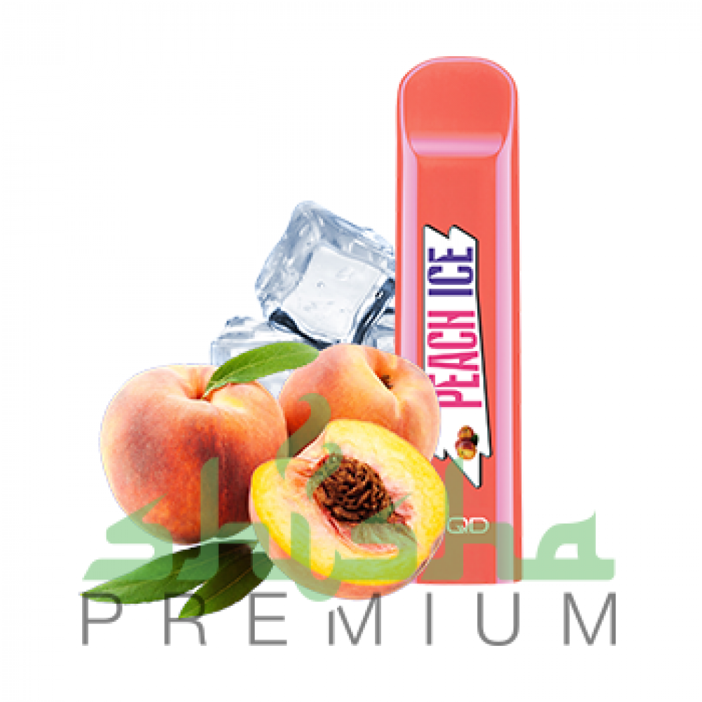 HQD Cuvie - Peach Ice (Персик) 5%