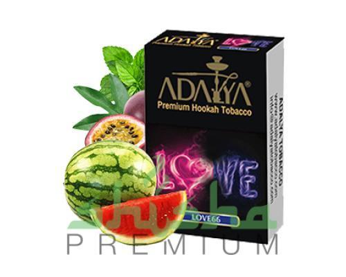 Табак для кальяна Adalya (Love66) арбуз, маракуйя, холод