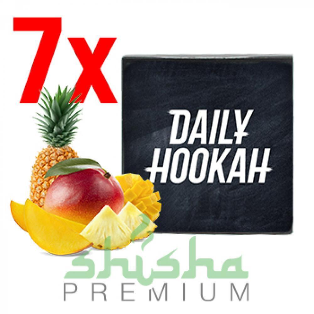 Набор табака Daily hookah (любые 7 пачек по 60 г)