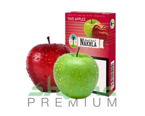 Табак для кальяна Nakhla Два яблока 50 г