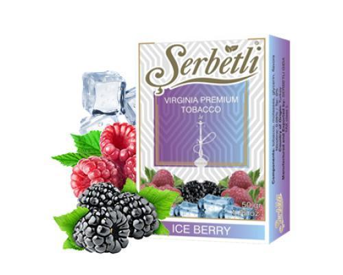 Serbetli ice berry (ледяная малина с ежевикой)