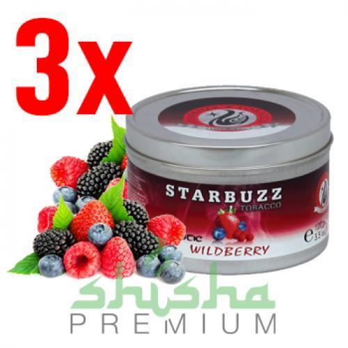 Набор табака Starbuzz (любые 3 банки по 250 г)