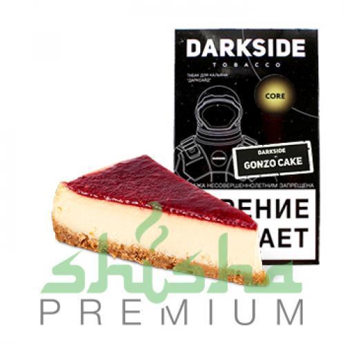 Табак для кальяна Dark Side Gonzo Cake Medium / Core (Дарксайд Гонзо Кейк/Лимонный чизкейк) 100г