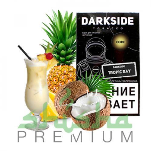 Табак для кальяна Dark Side Tropic ray Medium / Core (Дарксайд Тропик рей/пина колада) 100г