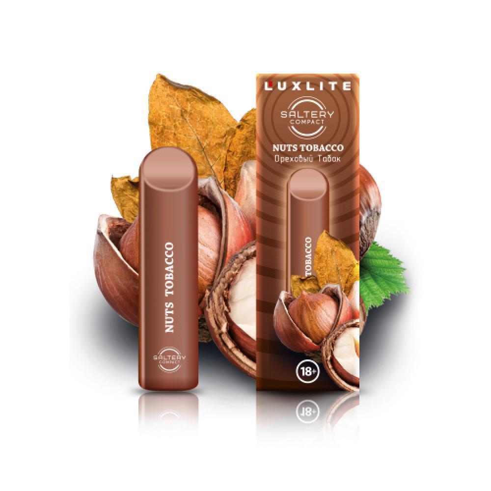 Электронная сигарета Luxlite Saltery Compact со вкусом табака и ореха