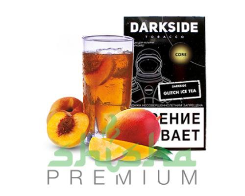Табак для кальяна Dark Side Glitch Ice Tea Medium / Core (Дарксайд Глич айс ти/ледяной персиковый чай) 100г