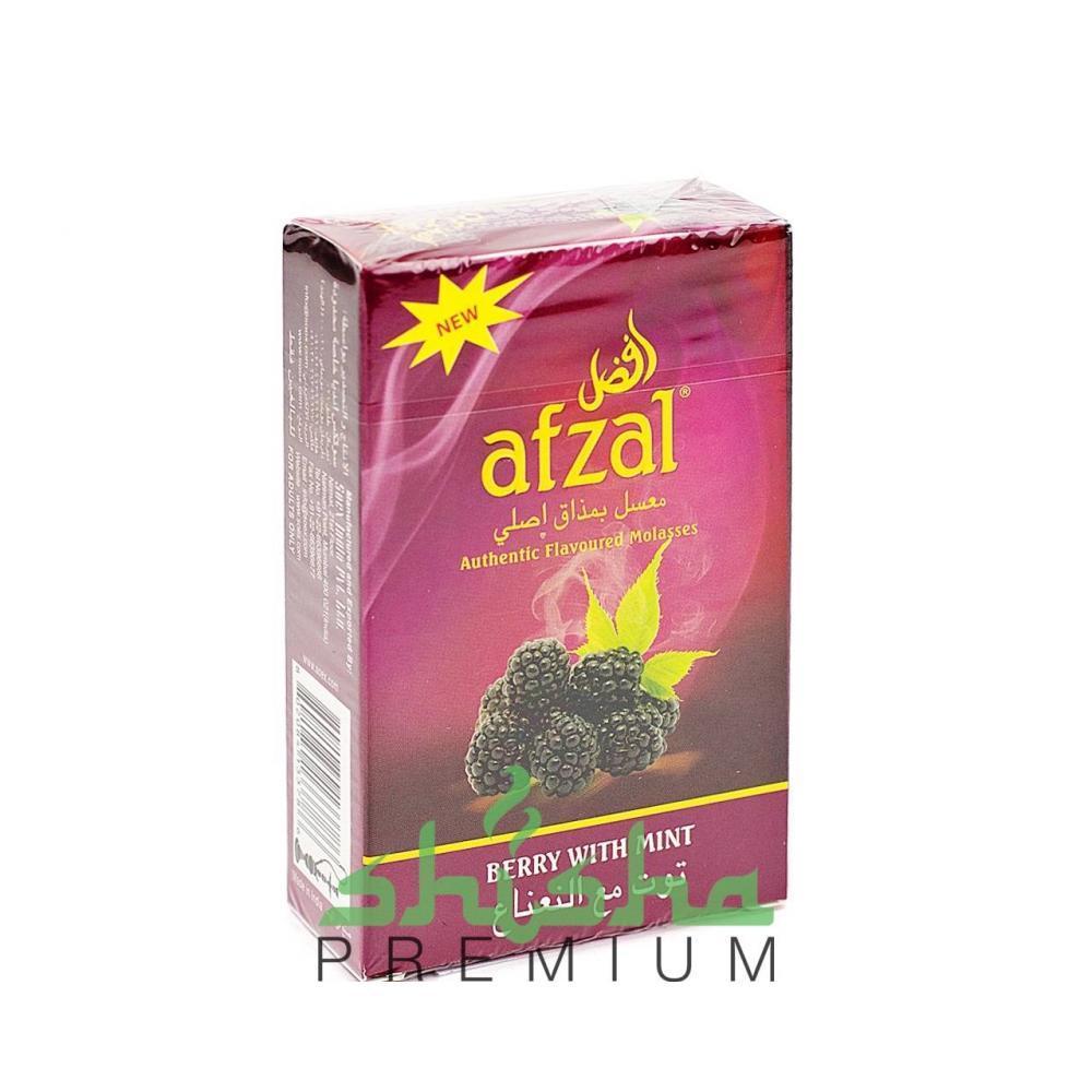 Afzal Berry with mint (Ягоды с мятой)