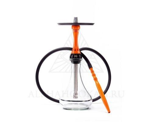 Alpha Hookah Model X Orange