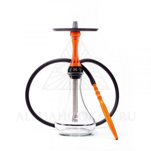 Alpha Hookah Model X Orange