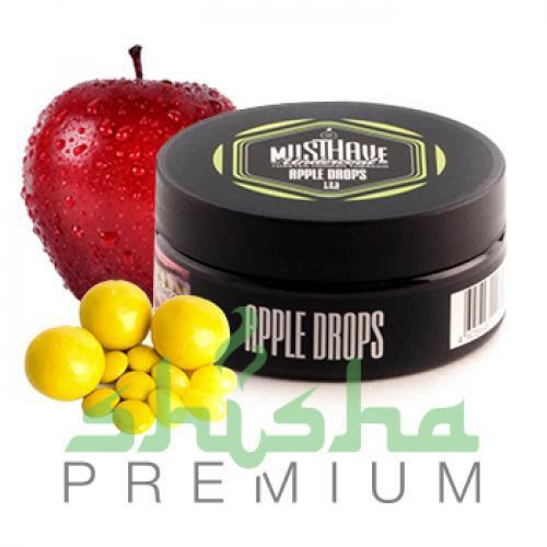 Табак MustHave 125 г Apple drops (Яблочные конфеты)