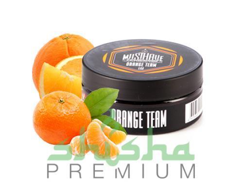 Табак MustHave 125 г Orange team (Цитрусовый)