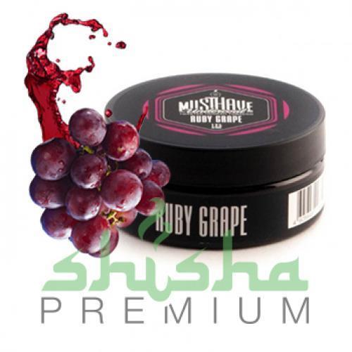 Must have 125 г ruby grape (красный виноград)