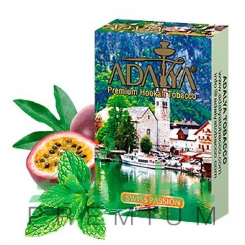 Adalya Swiss passion (мята с ледяной маракуйей)