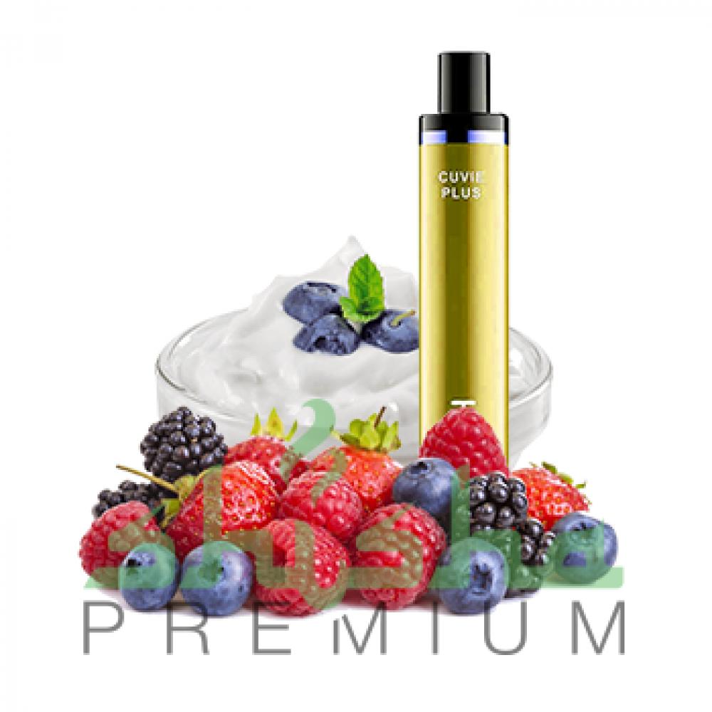 HQD Cuvie - Yogurt, berries (Йогурт, лесные ягоды) 5%