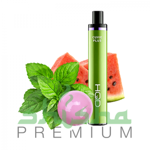 HQD Cuvie Plus - Watermelon, bubble gum, mint (Арбуз, жвачка, мята) 2%