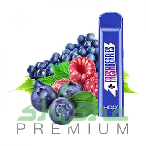 HQD Cuvie - Blueberry, raspberry, grape  (Черника, малина, виноград) 5%