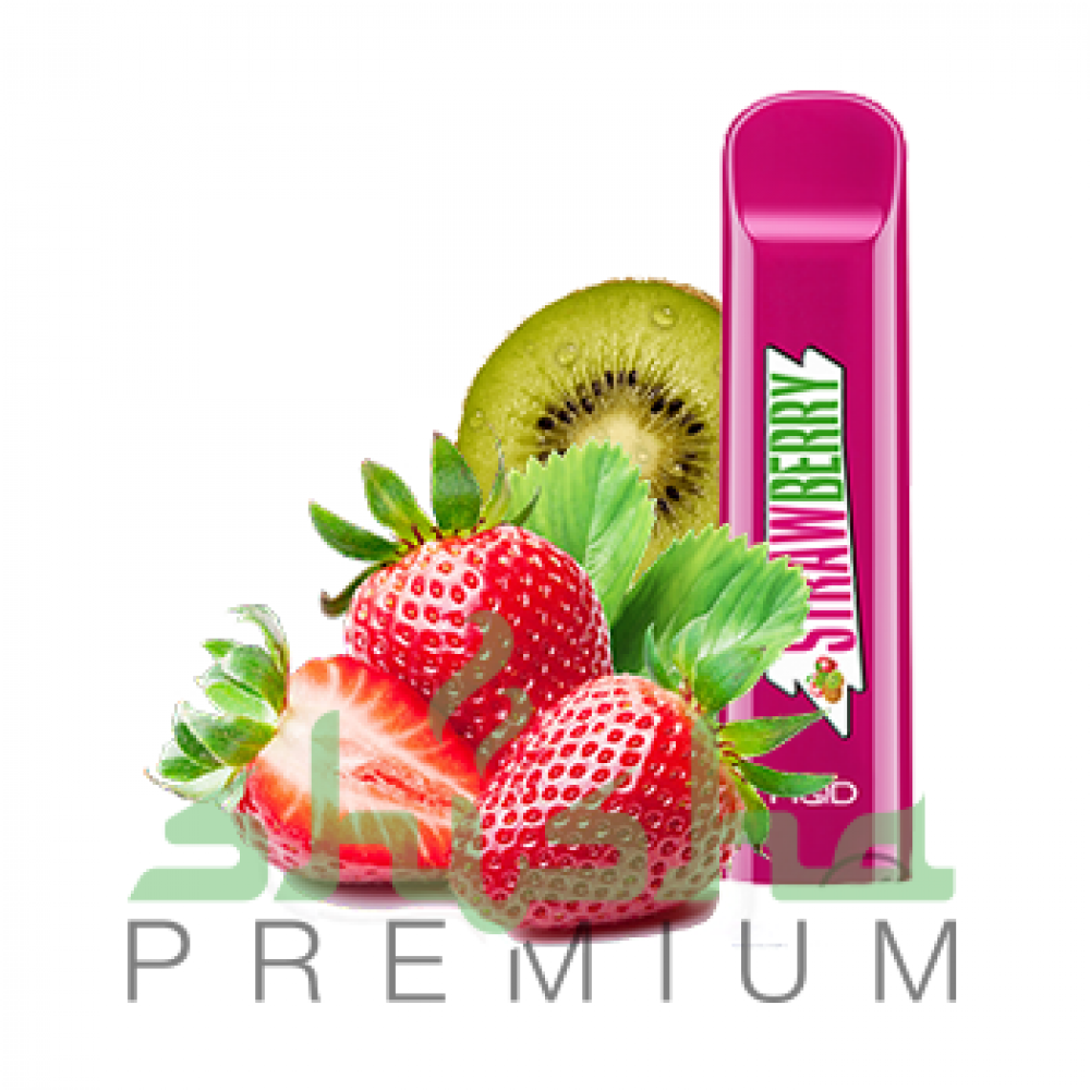 HQD Cuvie - Strawberry, kiwi (Клубника, киви) 5%