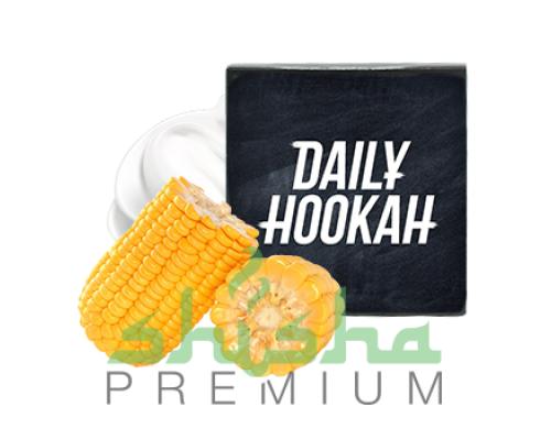 Табак для кальяна Daily Hookah (Дэйли Хука) Сливочная кукуруза 60 г