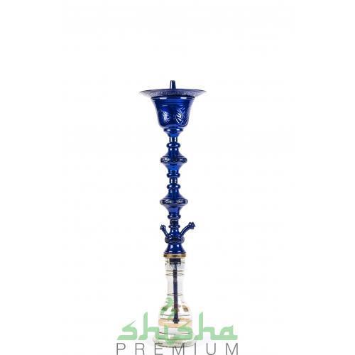 Кальян KHALIL MAMOON Double Decker Ice Blue 98 см.