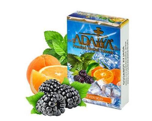 Adalya seven seas (мята, ежевика, апельсин, холод)