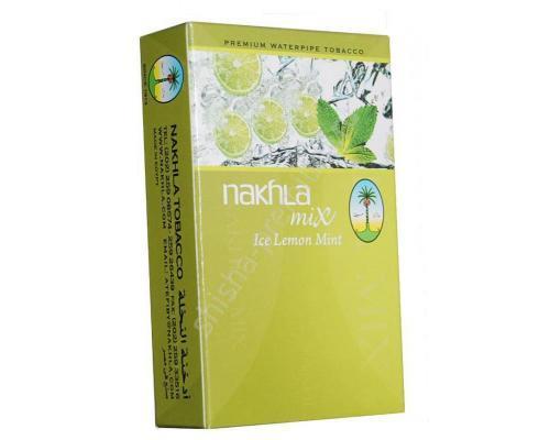 Табак для кальяна Nakhla mix Лимон и Мята 50 гр.
