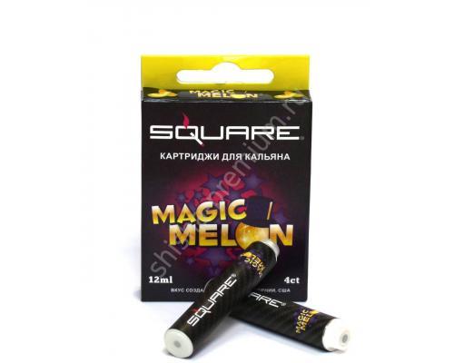 Картриджи Square Магическая Дыня (Magic Melon) для электронного кальяна в уп. 4 картриджа