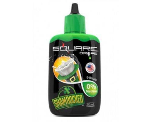Жидкость для электронного кальяна Square DROPS Shamrocked 25 мл