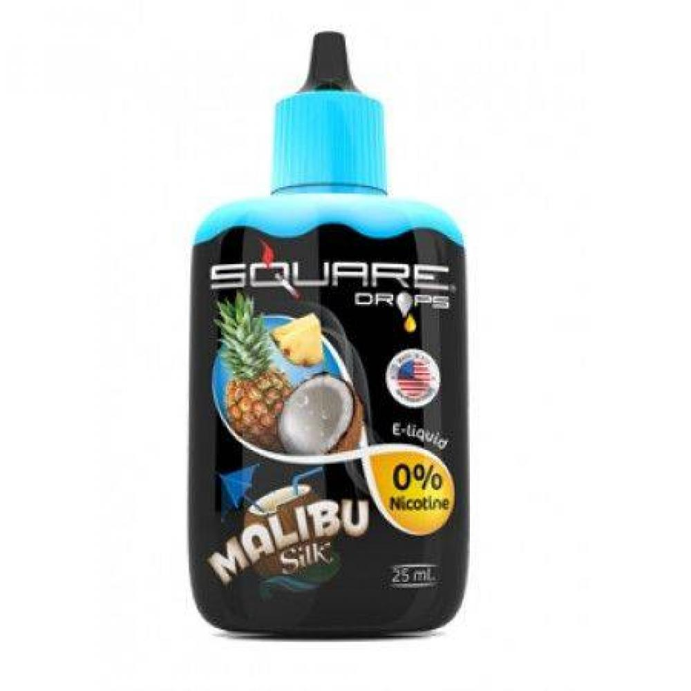Жидкость для электронных сигарет Square DROPS Malibu Silk 25 мл
