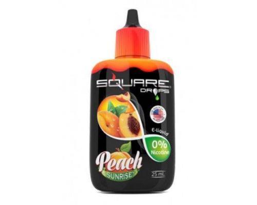 Жидкость для электронного кальяна Square DROPS Peach Sunrise 25 мл