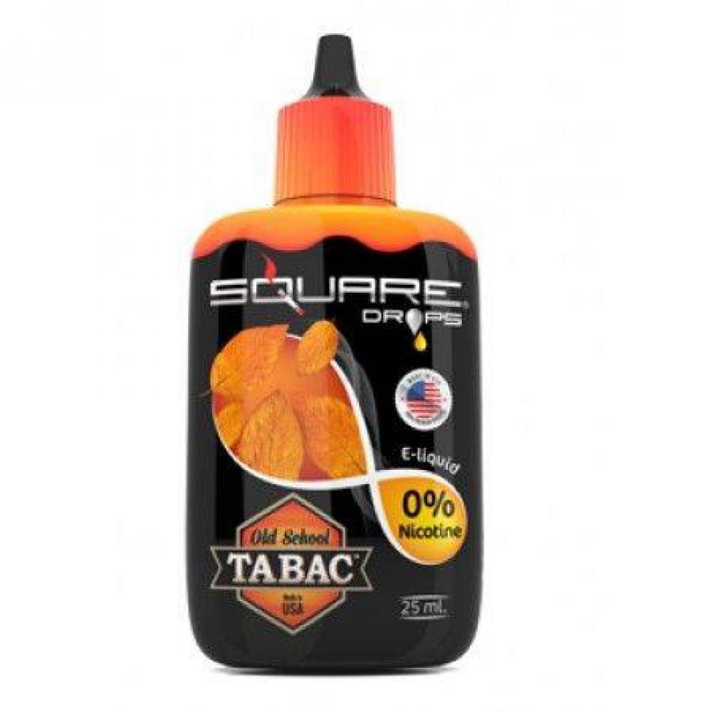 Жидкость для электронного кальяна Square DROPS Old School Tabac 25 мл