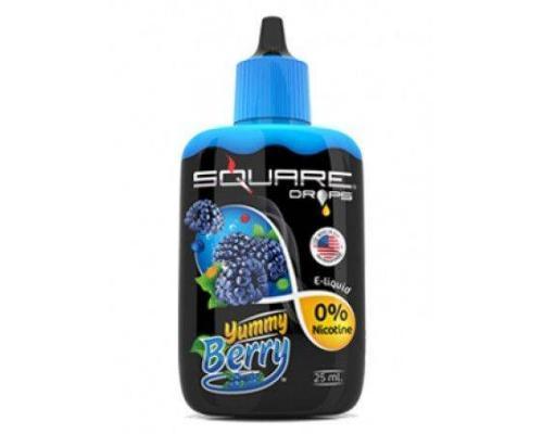 Жидкость для электронного кальяна Square DROPS Yummy Berry 25 мл