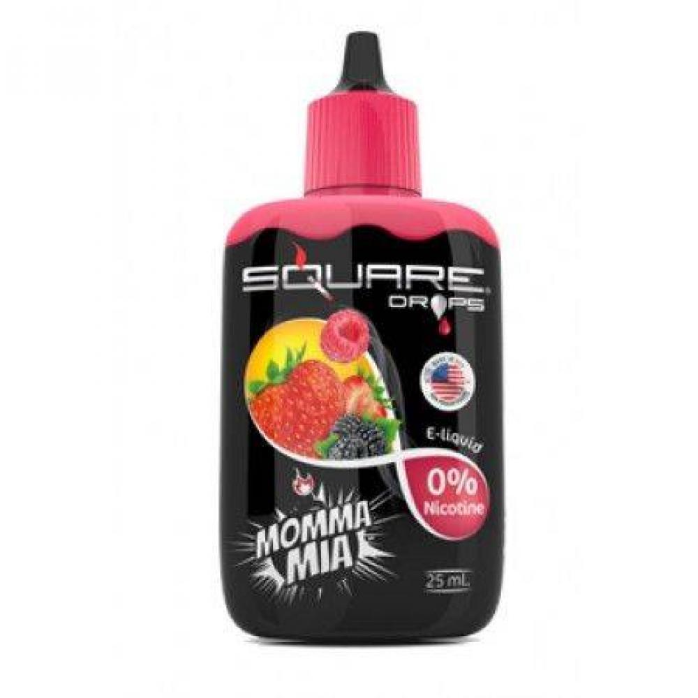 Жидкость для электронного кальяна Square DROPS Momma Mia 25 мл