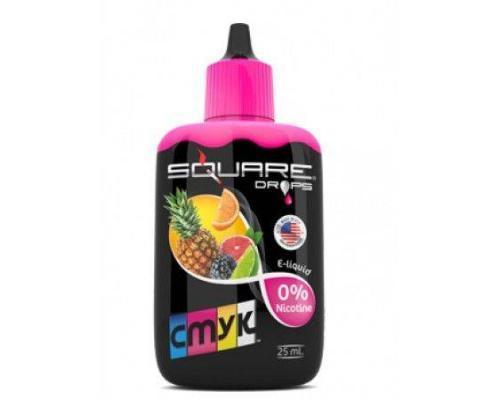 Жидкость для электронного кальяна Square DROPS CMYK 25 мл
