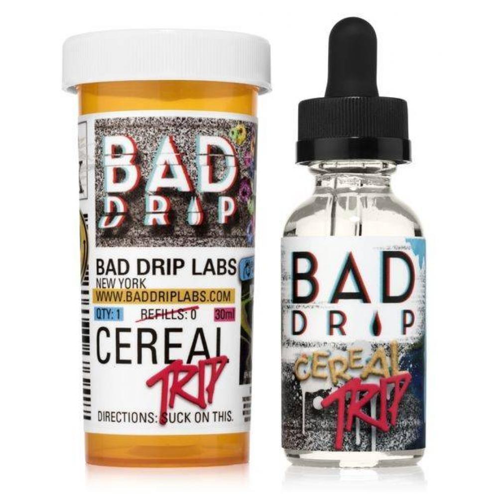 Жидкость BAD DRIP (Cereal trip 30 ml.) (0 мг.; 3 мг.; 6 мг.; 12 мг.)