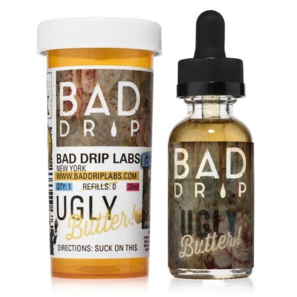 Жидкость BAD DRIP (Ugly butter 30 ml.) (0 мг.; 3 мг.; 6 мг.; 12 мг.)