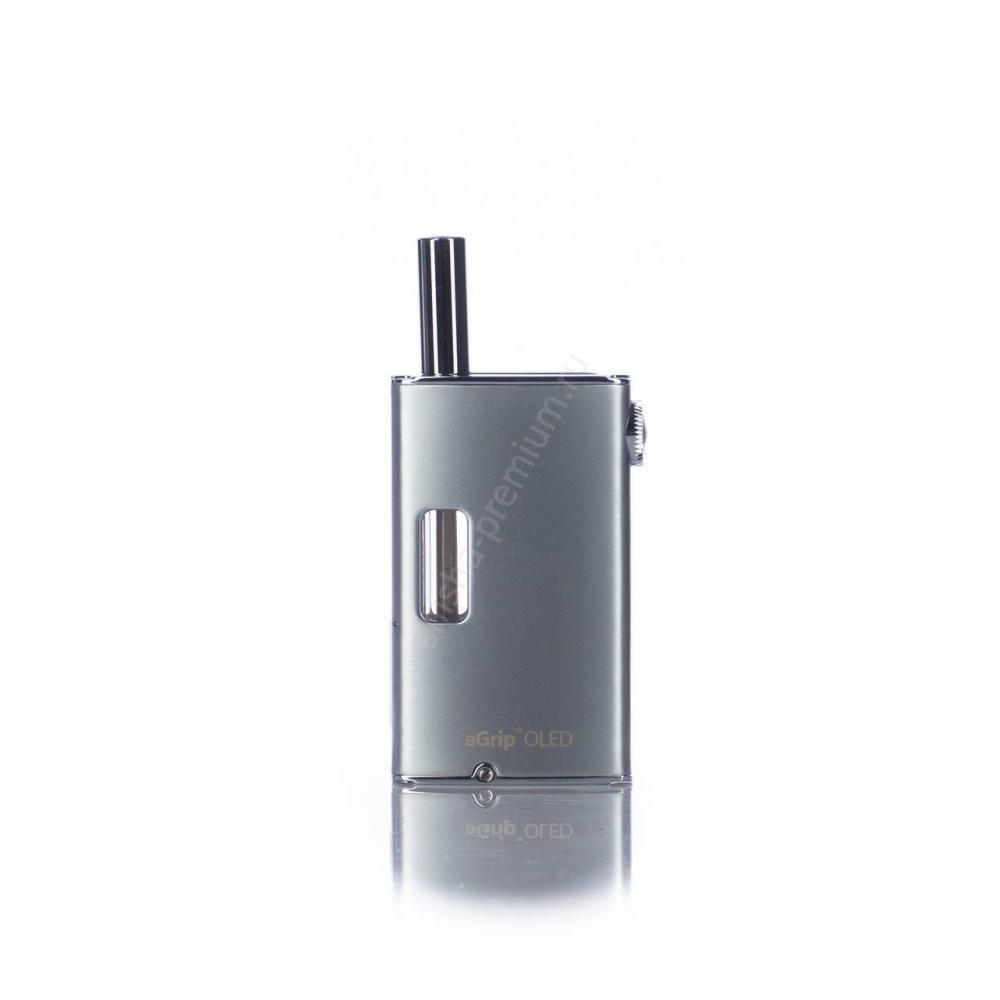Электронная сигарета eGRIP OLED 1500 mAh (стальной)