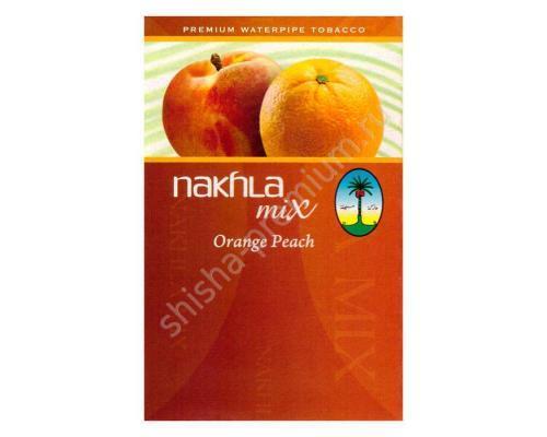 Табак для кальяна Nakhla mix Апельсин и Персик 50 гр.