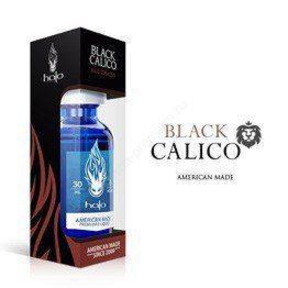 Жидкость для парения Halo, black calico (0, 6, 12 mg)