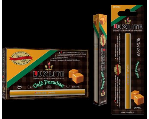 Одноразовые электронные сигареты LUXLITE CAFE PARADISE с ароматом  карамели